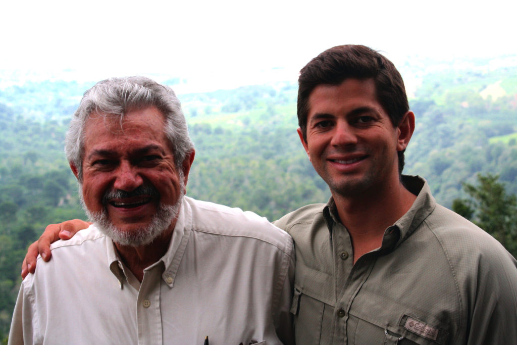 Don Alfonso and him son Diego