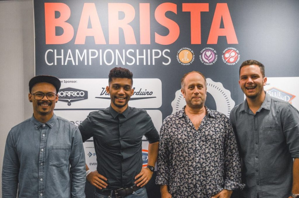 Team Origin at the SA Barista Champs