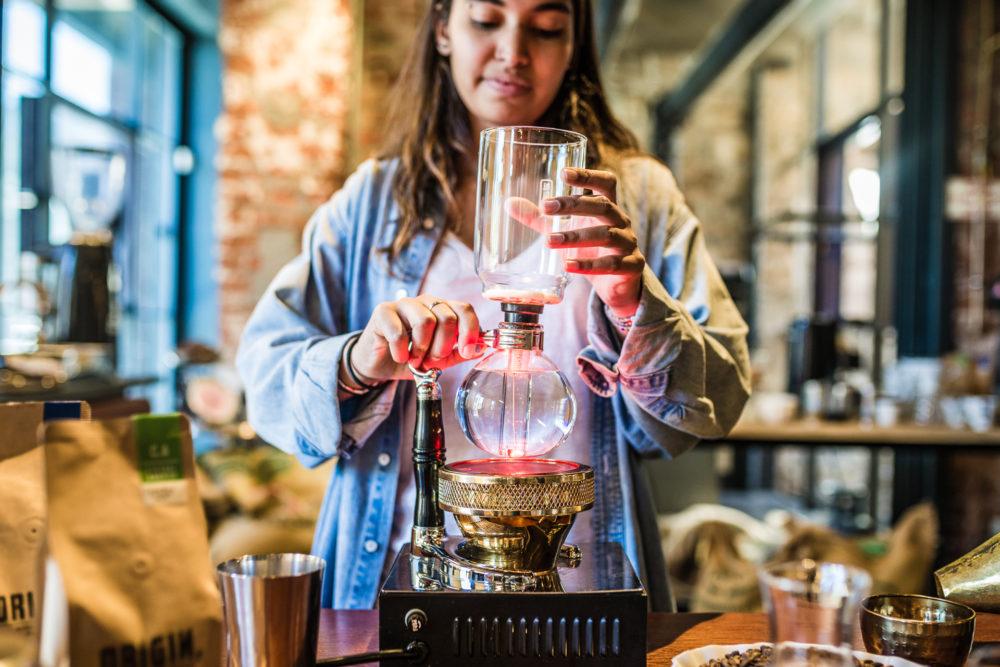 Siphon Coffee Brew