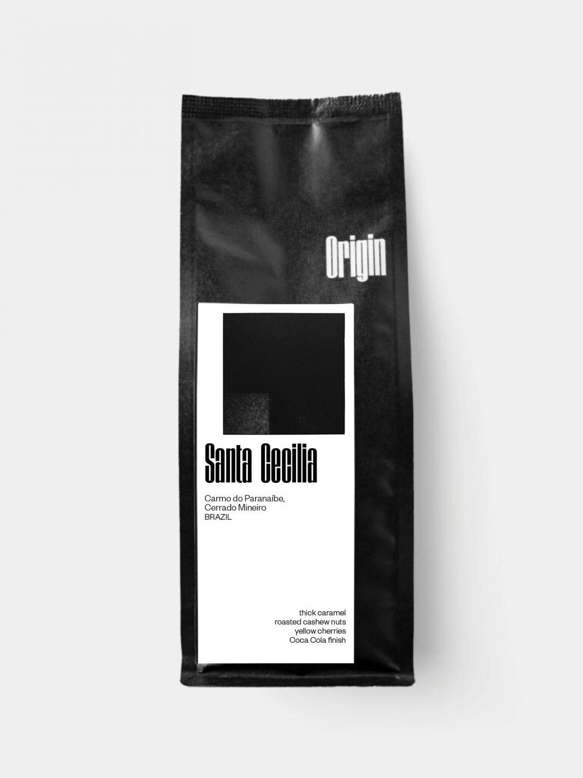 Brazil Santa Cecilia - On the 250g bag