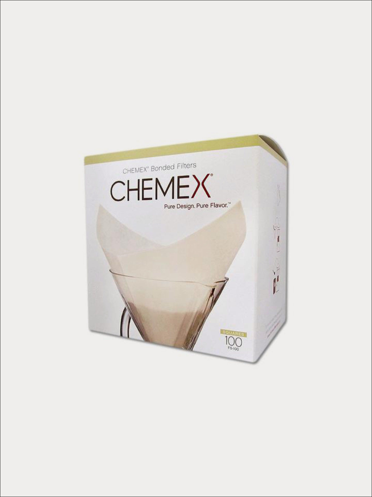 Chemex Filters 6 Cup Square