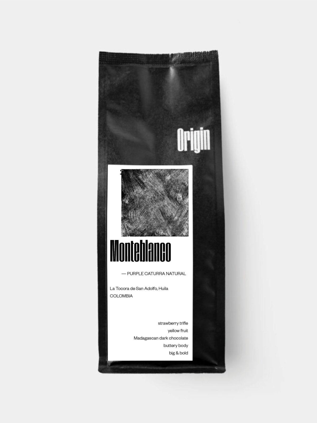 Colombia Monteblanco on the 250g bag