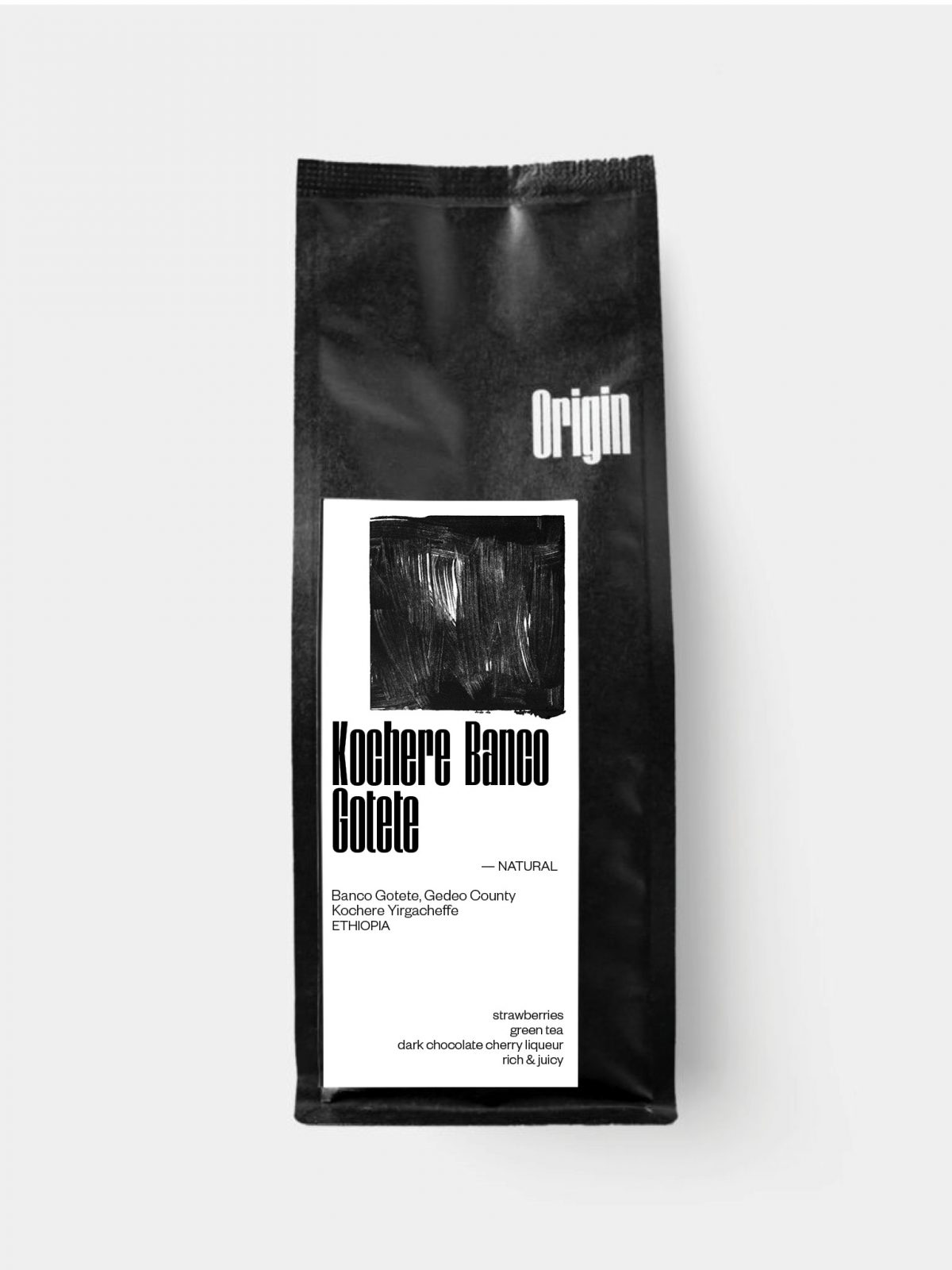 Ethiopia Banco Gotete Natural - on the 250g bag