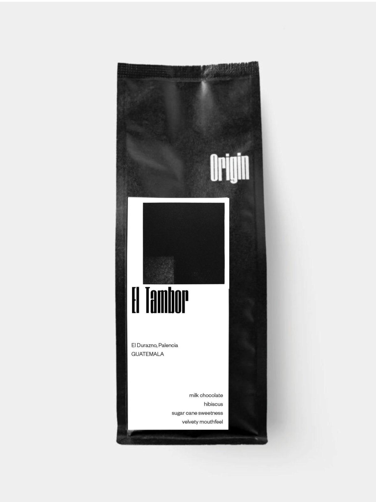 Guatemala El Tambor - on the 250g bag