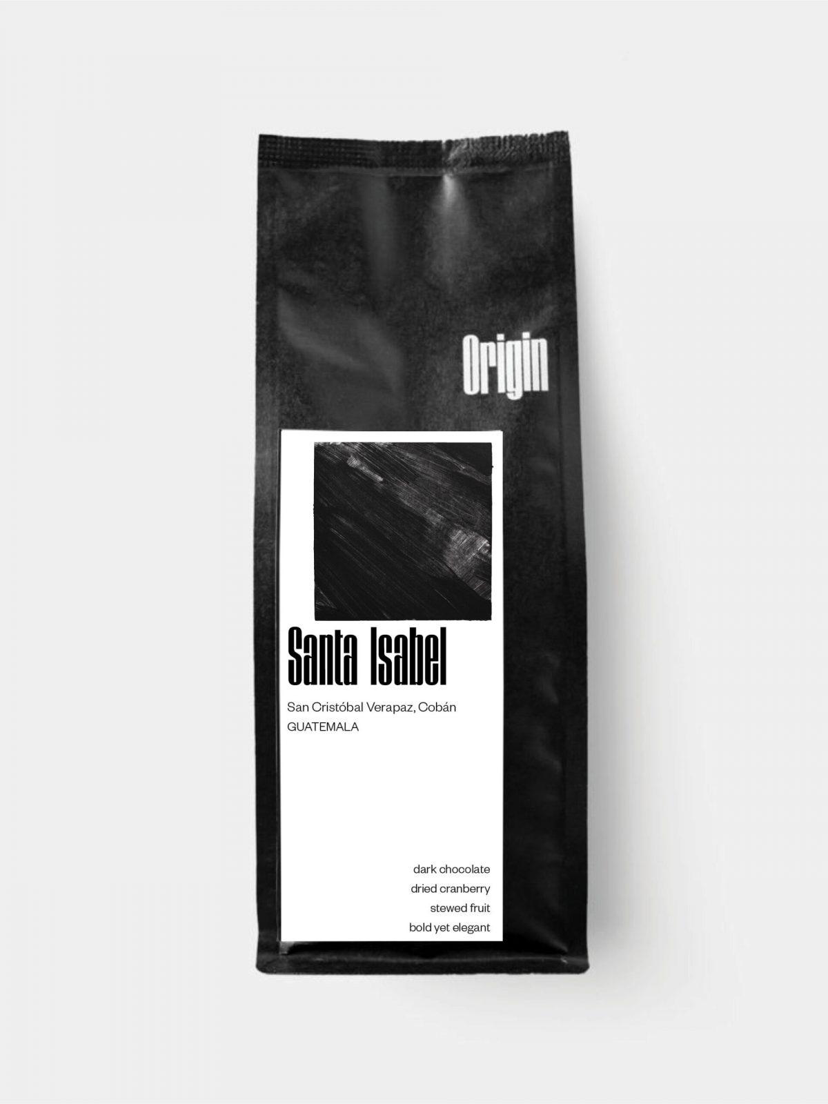 Guatemala Santa Isabel - on the 250g bag