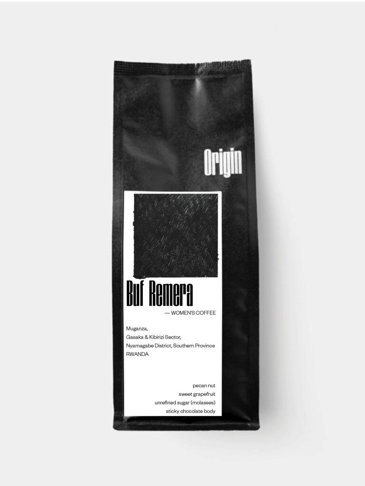 Rwanda Buf Remera Women's Coffee - on the 250g bag
