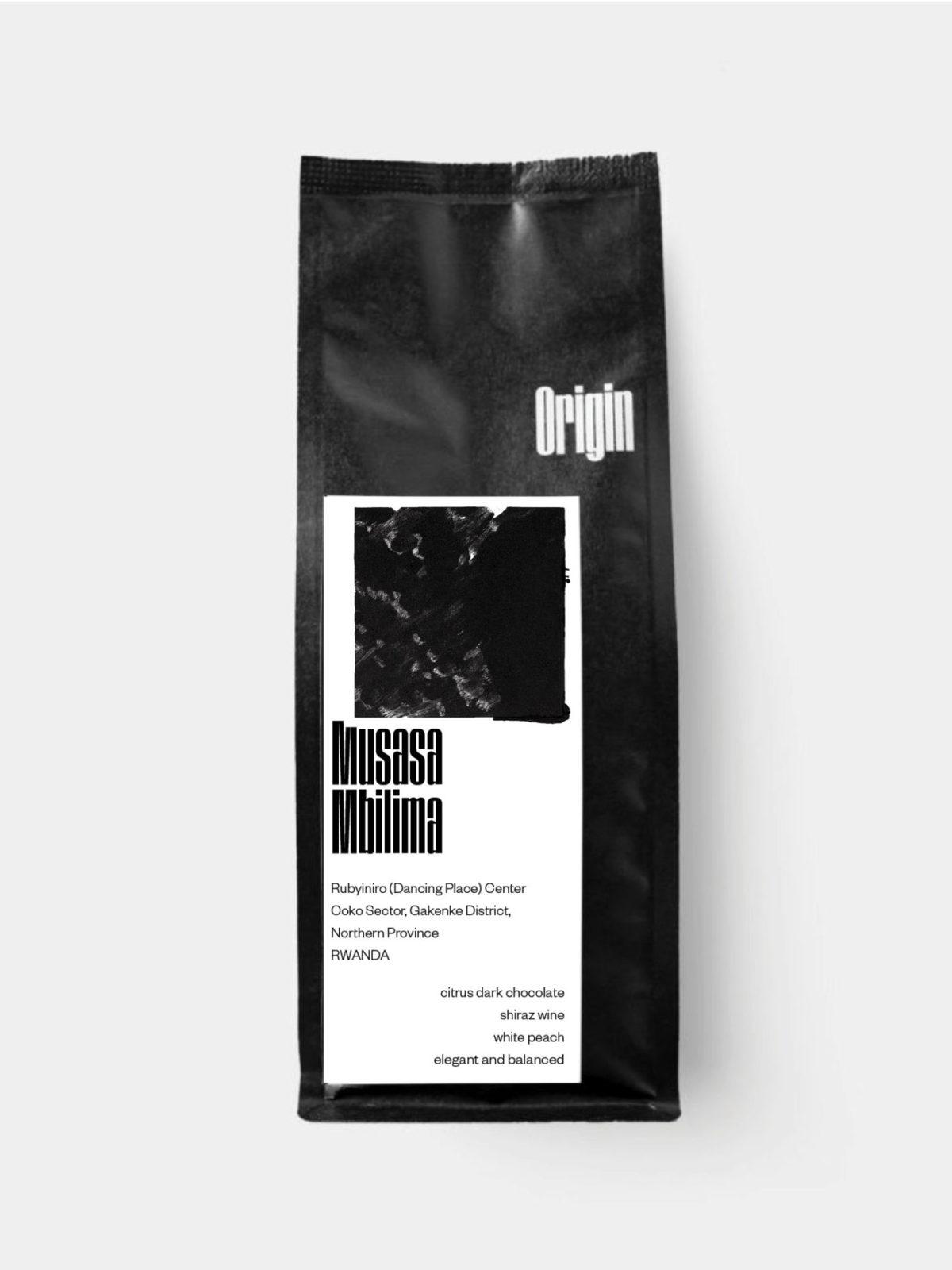 Rwanda Musasa Mbilima 2021 - on the 250g bag