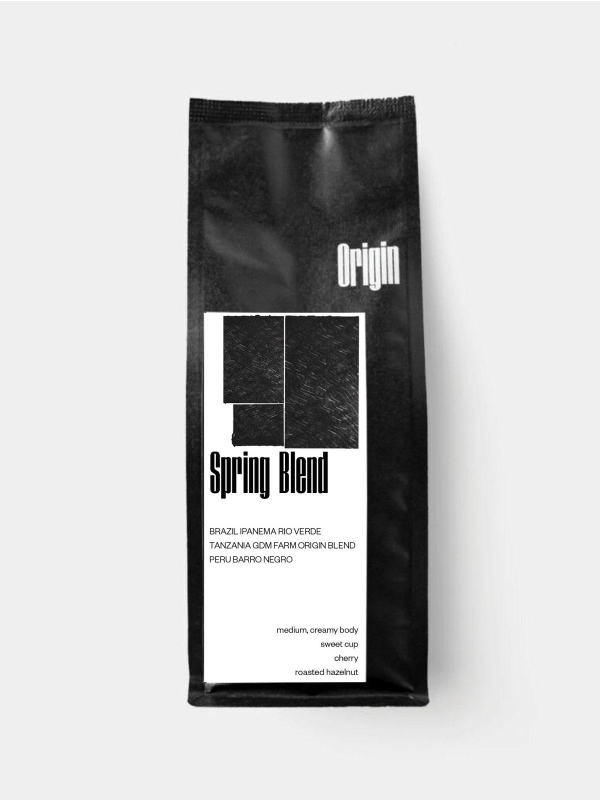 Spring Blend 2021 on the 250g bag